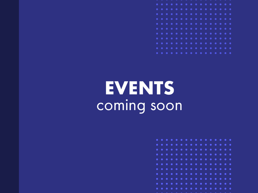 events coming soon banner